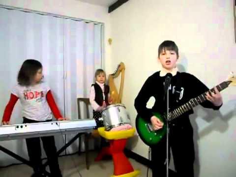 Children playing Rammstein
