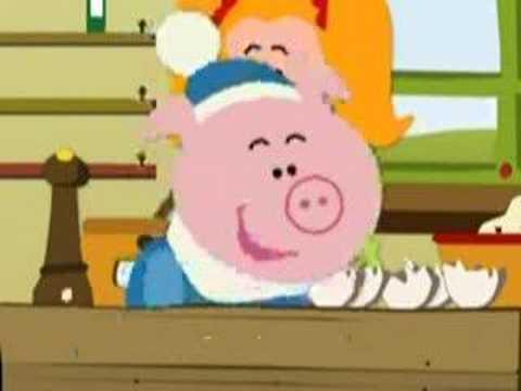 Fopje Flauw Mopje - farting pig cartoon song