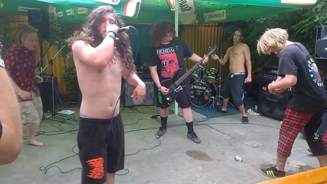 Blatenský fest 2016 - Mutilated Judge - grind core