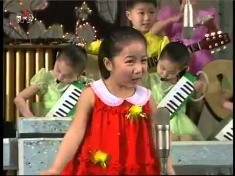 North Korea Kids Outrageously Performing