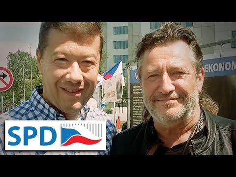 Jan a Olivie Žižkovi – Já volím SPD