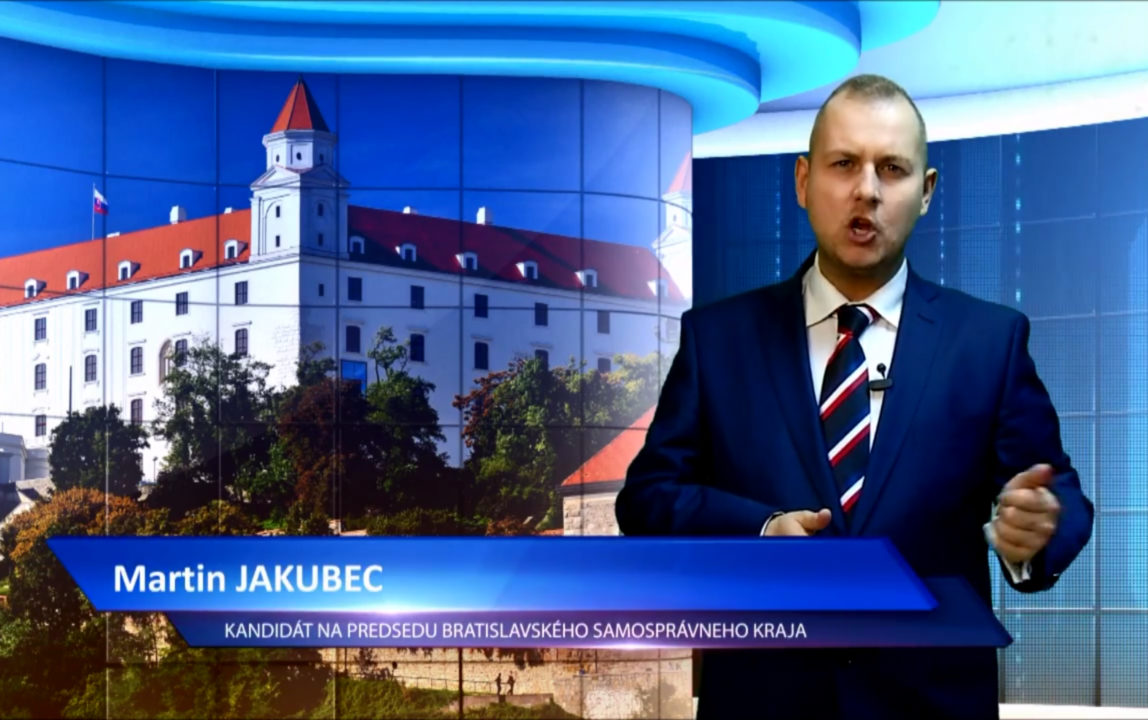 Jakubec - budúci župan BSK
