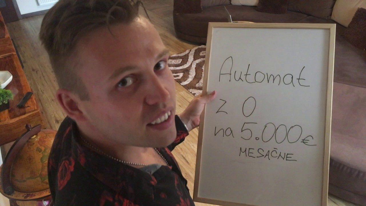 Peter Budzák – AUTOMAT z 0 na 5 tisíc mesačne