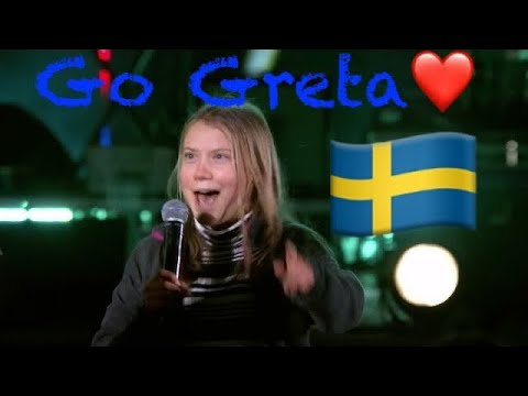 Greta Thunberg Dance Off | Fridays for Future | Never Gonna Give You Up -Singing Climate Live 2021❤️